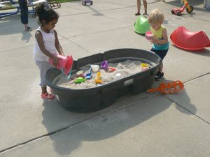 Students Playing Outside At Our Antelope Preschool